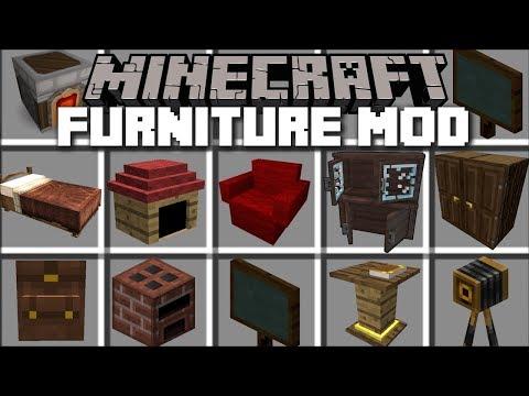 EN GELİŞMİŞ EV EŞYALARI MODU! [İNDİRME LİNKİ] 😱 - Minecraft