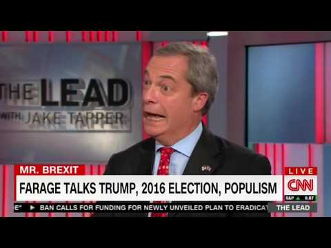 Whiny Nigel Farage has a sad that Barack Obama didn't pay enough attention to the UK