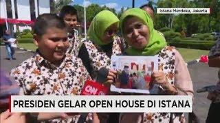 Girangnya Warga Bertemu Jokowi di Open House Istana - Lebaran 2017