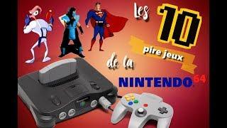 Les 10 plus mauvais jeux de la Nintendo 64