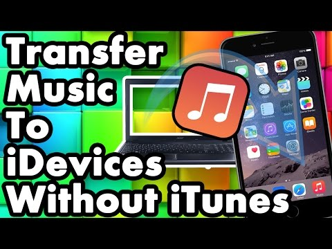 how to manually add music to ipod without syncing