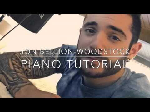Jon Bellion - All Time Low/Woodstock (piano...