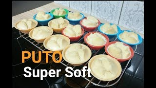 How to cook the Super Soft Puto