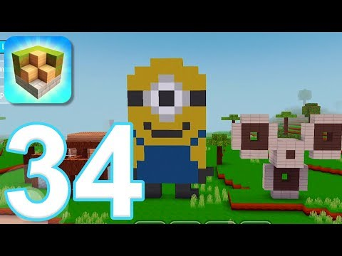 Block Craft 3D: City Building Simulator - Gameplay Walkthrough Part 34 (iOS) - 동영상