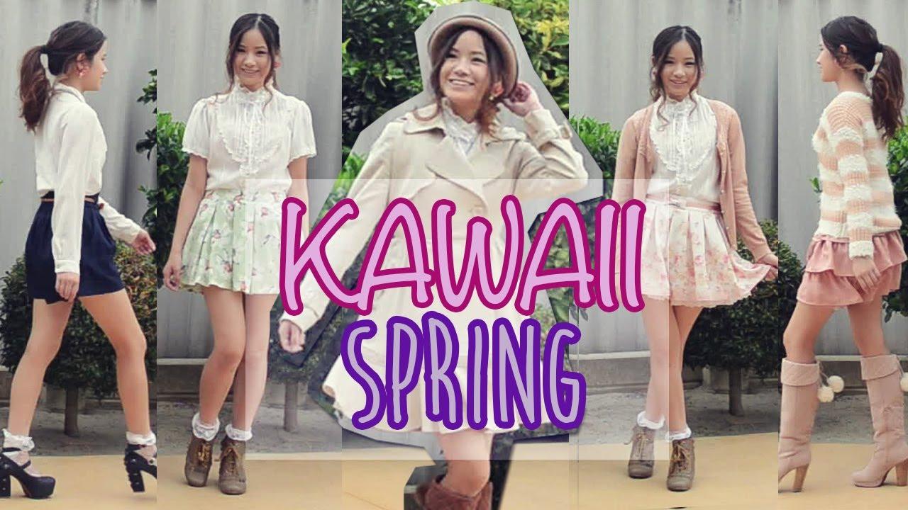 Kawaii Japanese Spring Outfits Youtube