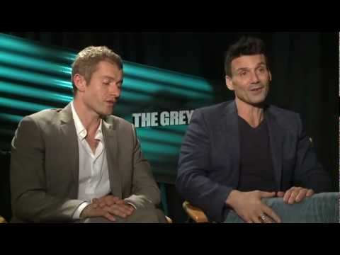 Frank Grillo  & James Badge Dale talk 'They Grey' and filming in the cold