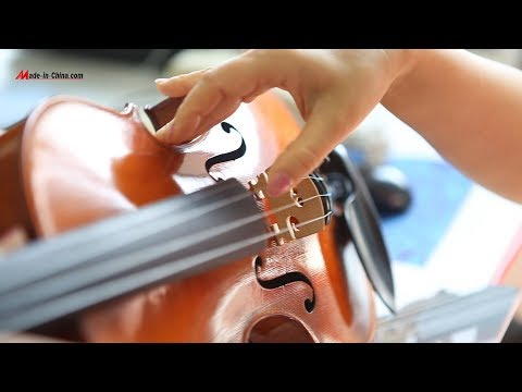 Handcrafted Hearty Violin from Aileen Music  Strings and Beyond