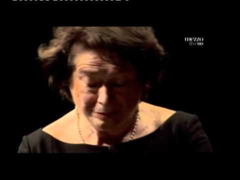 Elisabeth Leonskaja in Sonata  K 332 Adagio by W,Amadeus Mozart