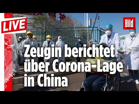 🔴 Zeugin berichtet über Corona-Lage in China   BILD Live vom 04.03.2020