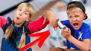 Пульт для управления ЛЮДЬМИ! Что делают ДЕТИ? Family kids
