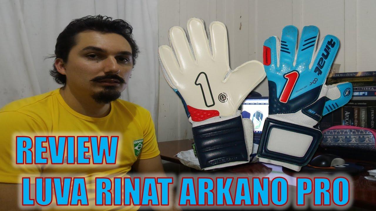 06 Desembalamento Unboxing e review Luva Rinat Arkano Pro  6746ed0346c20