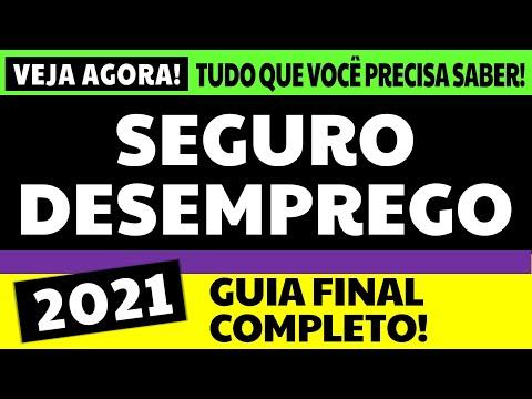 SEGURO DESEMPREGO 2021: GUIA FINAL COMPLETO!