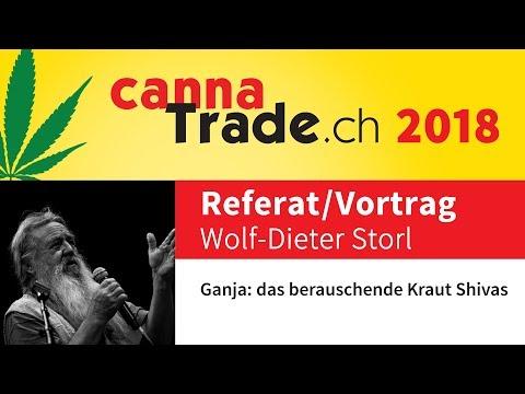 CannaTrade 2018 - Wolf-Dieter Storl (DE)