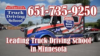 The Best Truck Driving School in Minnesota Call 651-735-9250