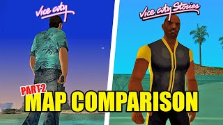 GTA Vice City vs. Vice City Stories - Map Comparison Pt. 2
