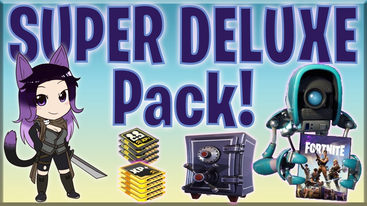 Fortnite Super Deluxe Worth It Fortnite Pve Buying Super Deluxe Edition Contents More Youtube