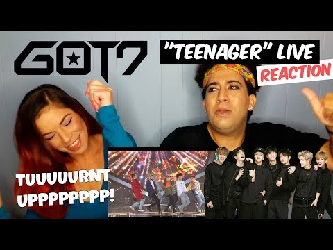 "GOT7 ""Teenager"" Live Performance (VLIVE) REACTION"