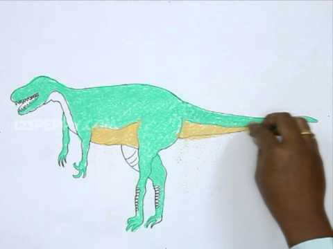 How To Draw a Alectrosaurus