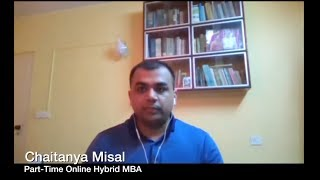 Alumni Careers: Chaitanya Misal, Part-Time Online Hybrid MBA