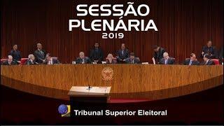 Assista a íntegra da sessão de julgamentos do Tribunal Superior Eleitoral realizada no dia 26 de Novembro de 2019. Encontre-nos nas redes sociais: ...