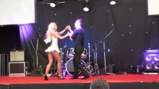 Andreea Balan & Petrisor - Salsa Concert SIAB 7.04.12