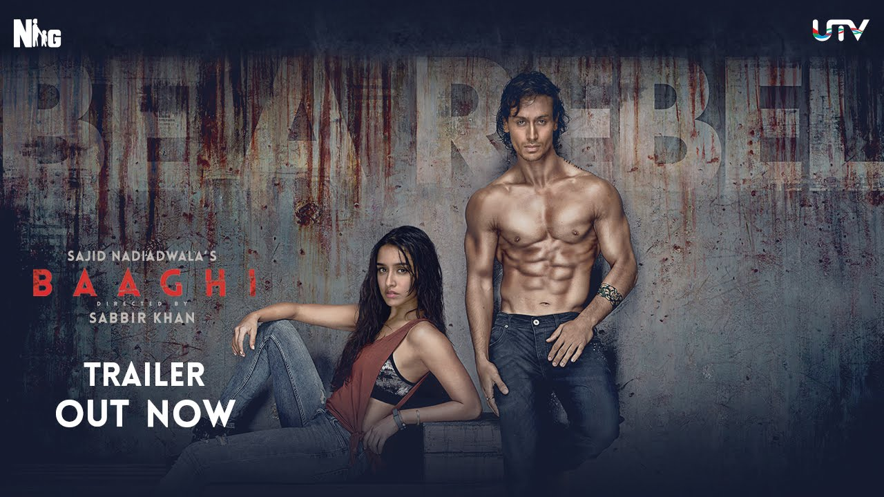 Download Baaghi Official Trailer | Tiger Shroff and Shraddha Kapoor | Sajid Nadiadwala | Sabbir Khan