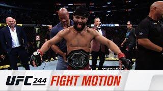 UFC 244: В замедленной съемке