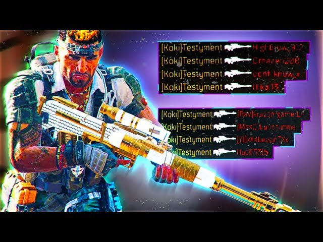 best bo4 sniper