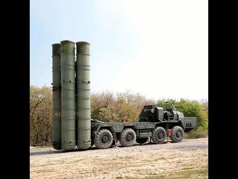 Подразделения ПВО развернули С-400 «Триумф»  на учениях в Южном военном округе.