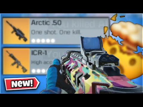 *NEW* LEGENDARY ICR-1 + LEGENDARY ARTIC .50 GAMEPLAY | CALL OF DUTY MOBILE BATTLE ROYALE 😱
