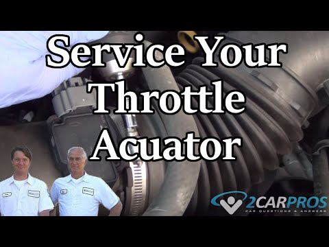 Throttle Actuator Service Hyundai Sonata 2009-2014 - YouTube
