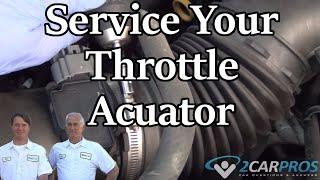 Throttle Actuator Service Hyundai Sonata 2009 2014