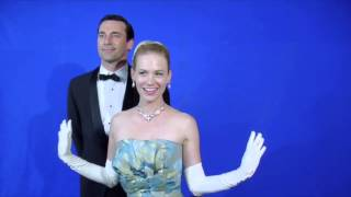 MADMEN Cast  January Jones & Jon Hamm Perform Bye Bye Birdie