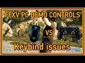 Final Fantasy XV PC Demo - Keybind issues - Control comparison Gamepad vs Keyboard & Mouse