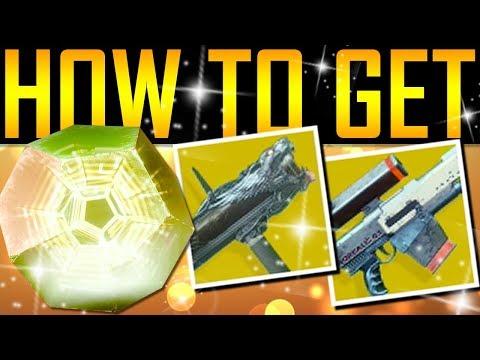Destiny 2 - HOW TO GET EXOTIC ENGRAMS!
