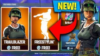 NEW FREE FORTNITE SKINS & FREE DANCE! NEW TWITCH PRIME SKINS IN FORTNITE!! (Fortnite: Battle Royale)