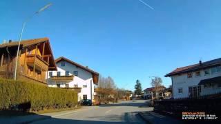 D: Au bei Bad Aibling. Gemeinde Bad Feilnbach. Landkreis Rosenheim. Ortsdurchfahrt. Dezember 2016