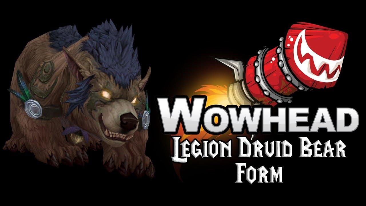 Legion Druid Bear Form - YouTube