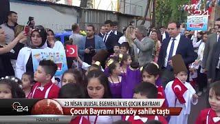 Beyoğlu'nda Çocuk Bayramı Hasköy Sahile Taştı