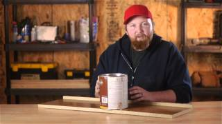 What Type Of Stain Or Varnish Do You Use On Pressed Wood Or Particle Boar... : Woodwork & Carpentry
