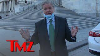 Sen  Lindsey Graham Says Kamala Fist Bump Is a Good Omen, But