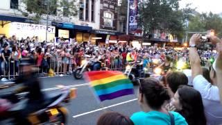 [4K] Dykes on Bikes - Sydney Mardi Gras 2015
