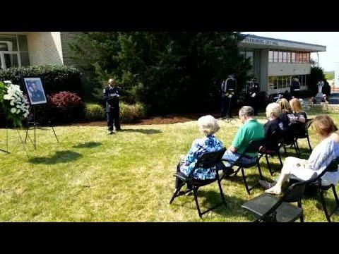 Spartanburg MPO Jason Harris remembrance ceremony