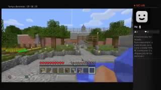 Minecraft PS4 Ao Vivo