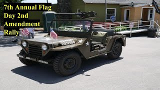 7th Annual Flag Day 2A Rally Vlog