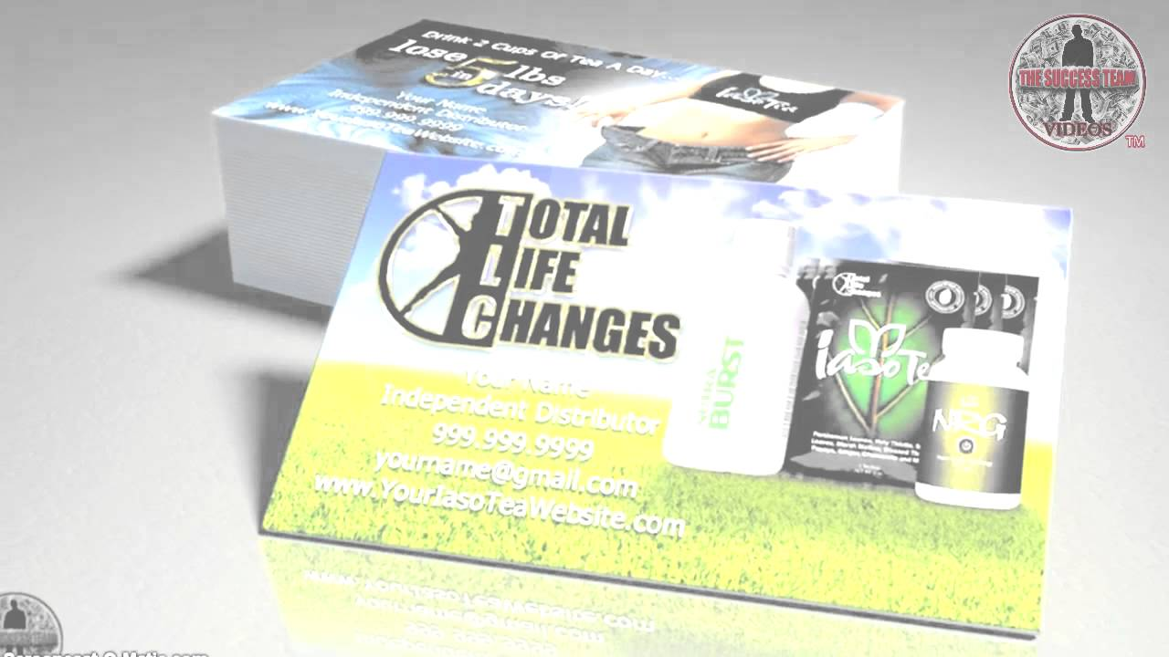 Total Life Changes Business Cards | 100% FREE Shipping And Team ...