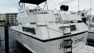 Used 1987 Hatteras 40 Dc For Sale In St Petersburg, Florida