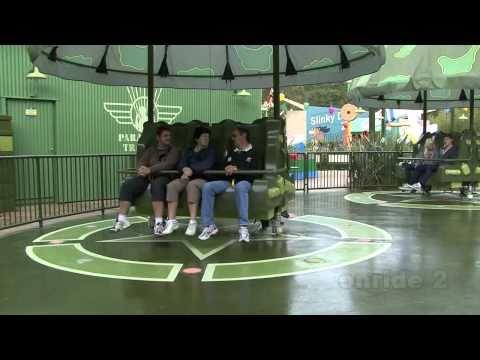 Disneyland Paris HD - 3 onrides Parachute Drop