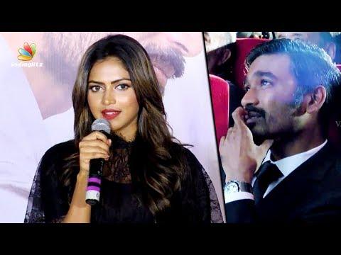 I'm here because of DHANUSH Sir : Amala Paul Speech at VIP 2 Mumbai Audio Launch | Kajol