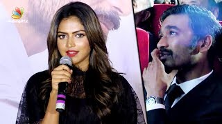 I'm here because of DHANUSH Sir : Amala Paul Speech at VIP 2 Mumbai Audio Launch | Kajol